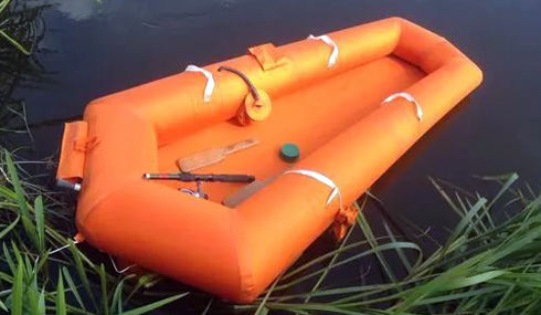 Надувная лодка ЛАС