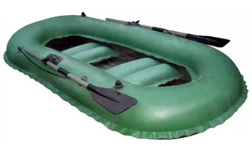 Гребная резиновая лодка Нырок 2 4