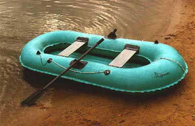 Гребная резиновая лодка нырок 2 6
