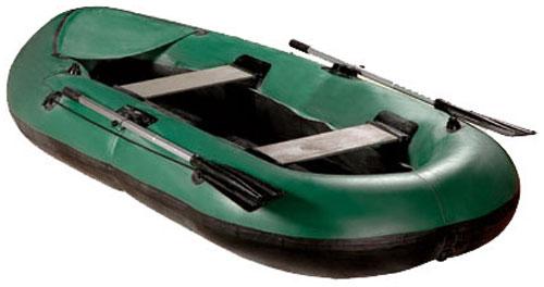 Надувная лодка резиновая Вега